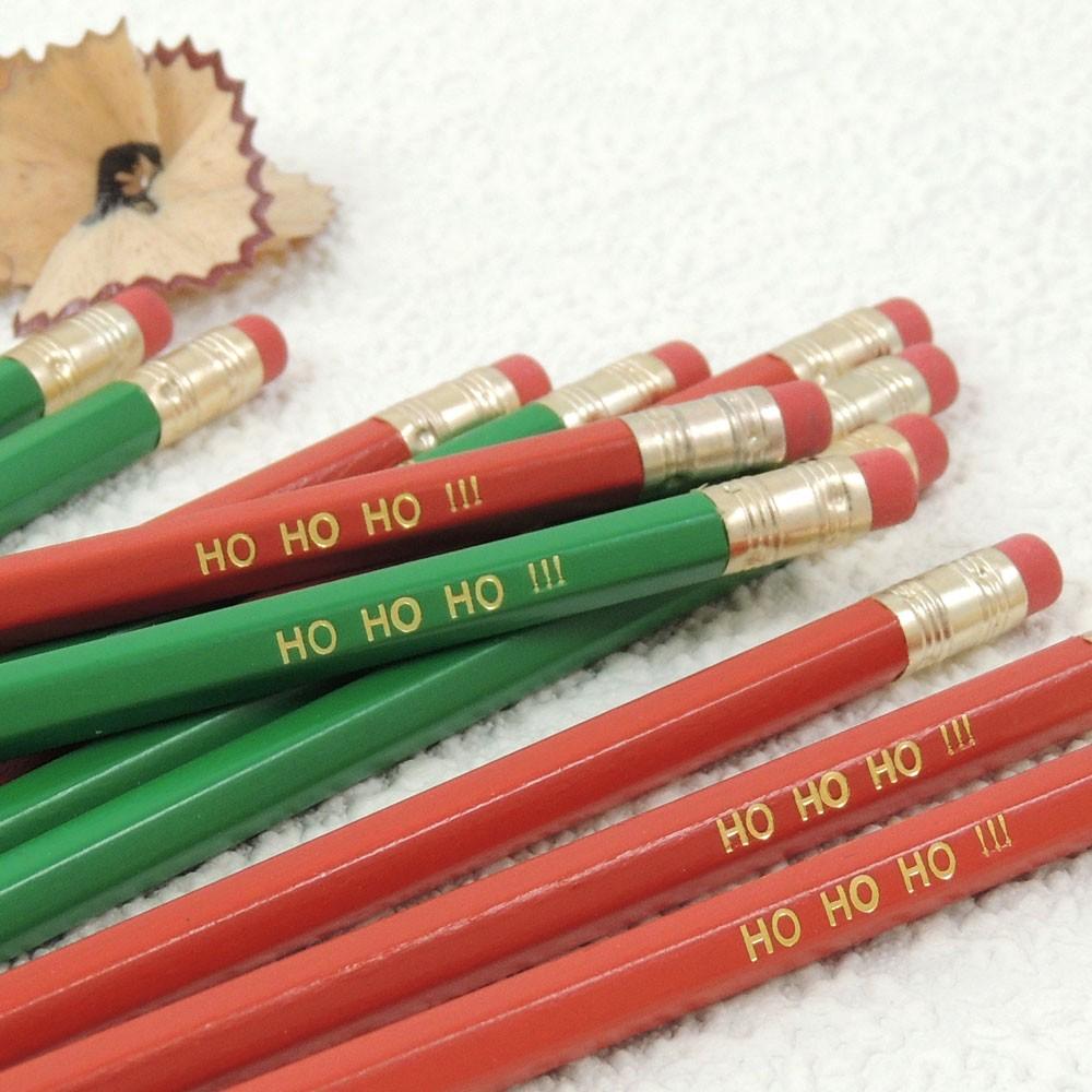 Christmas Wooden Graphite Pencils