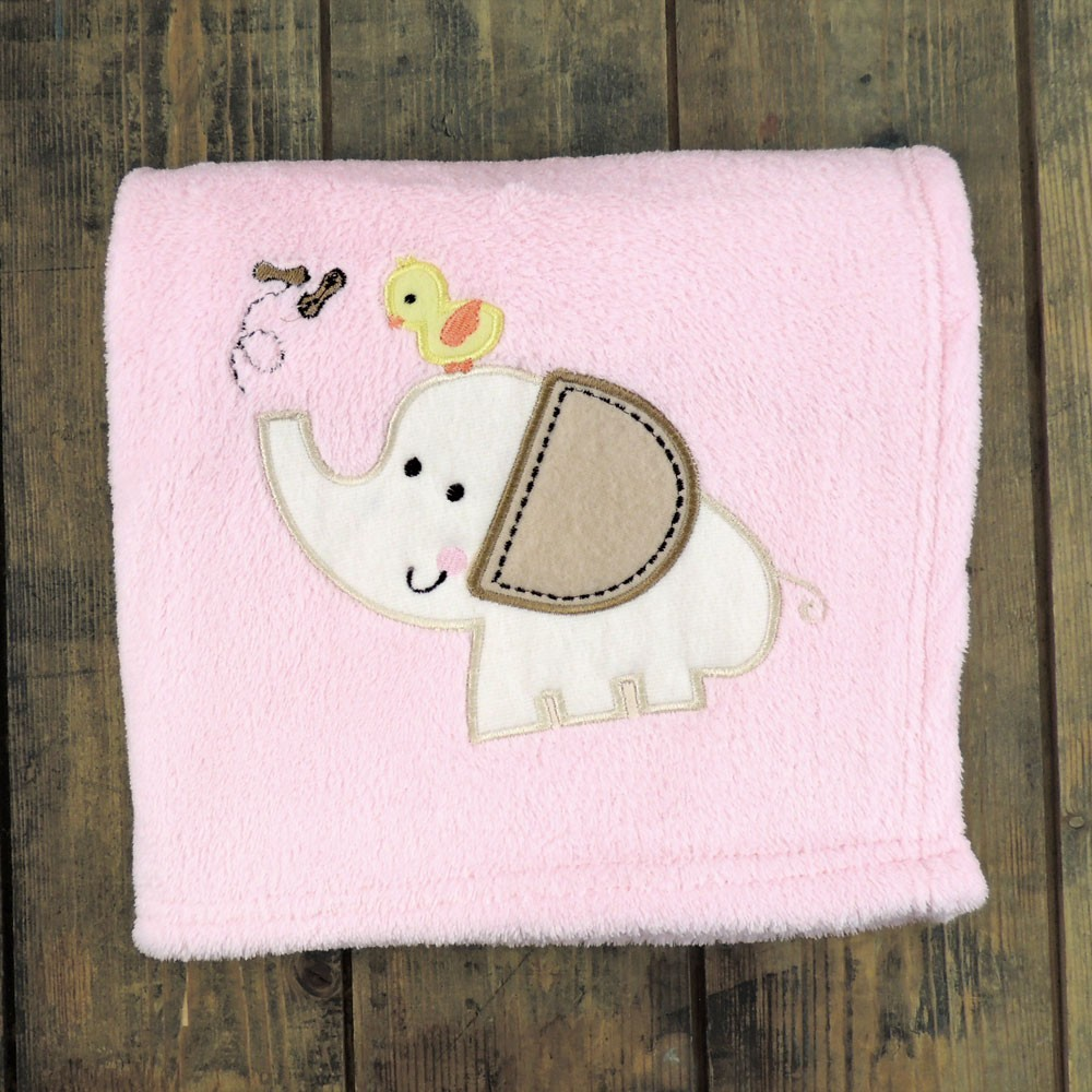 Personalised Animal Motif Blanket