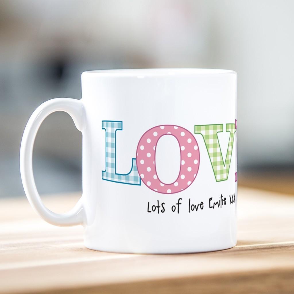 Polka Love Mug