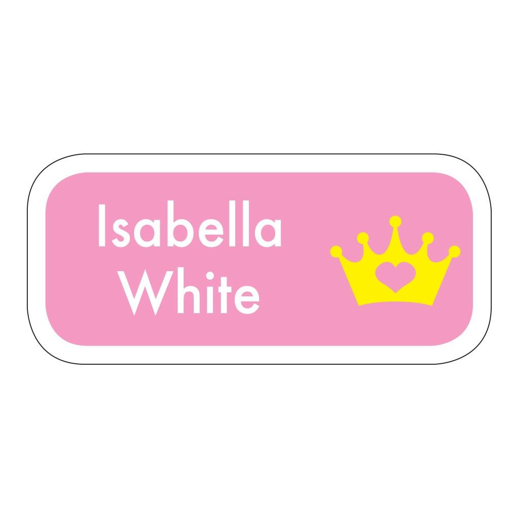 Princess - Stick On Labels