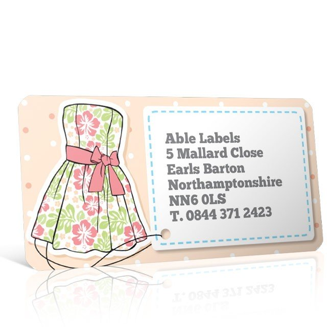 Pre Designed Dress Address Label on A4 Sheets