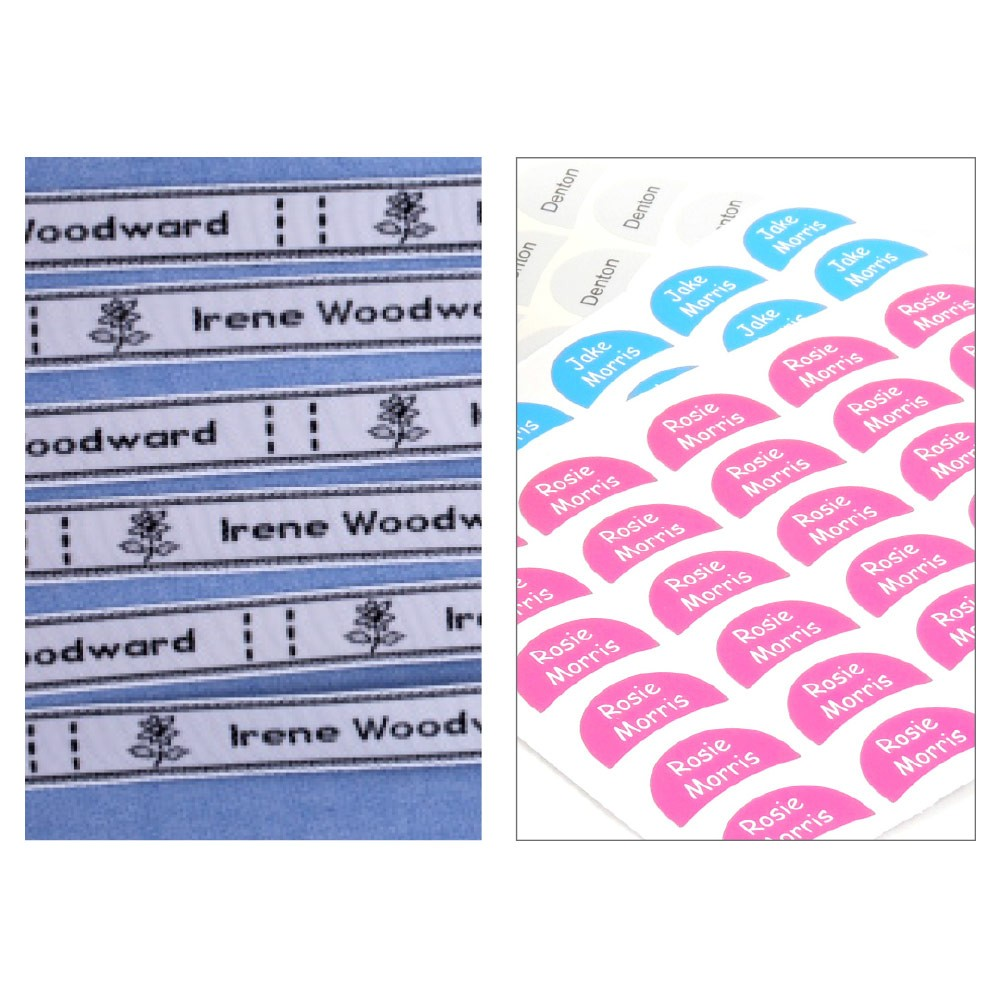 Sew and Shoe Label Pack