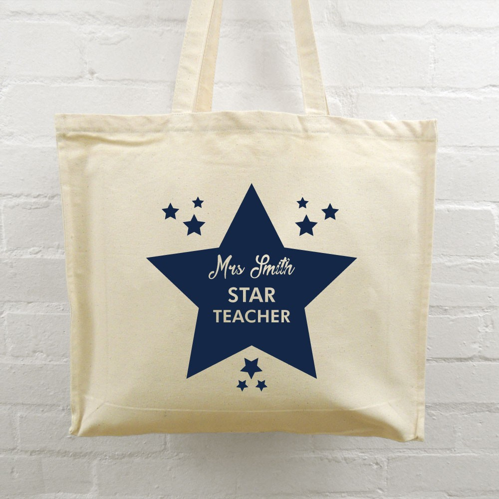 Teacher Tote Bag - Star Teacher