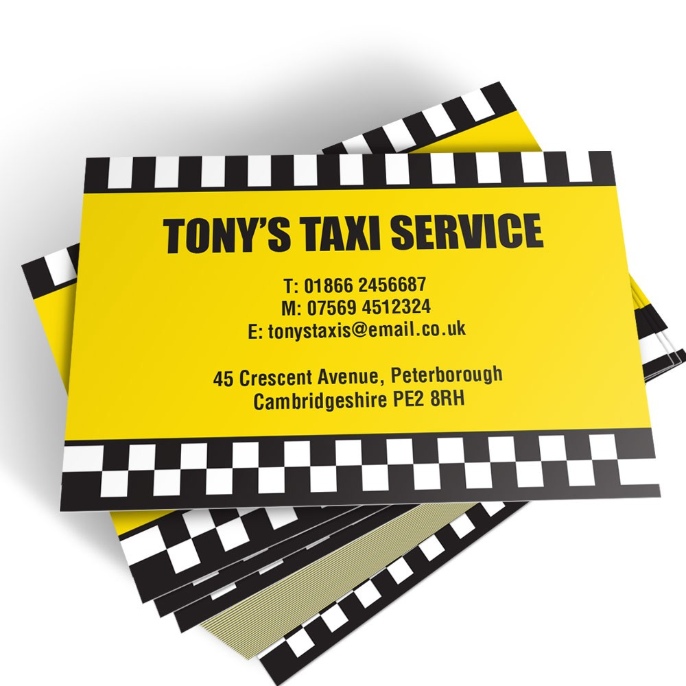 taxi driver templated business card 2 able labels. Black Bedroom Furniture Sets. Home Design Ideas