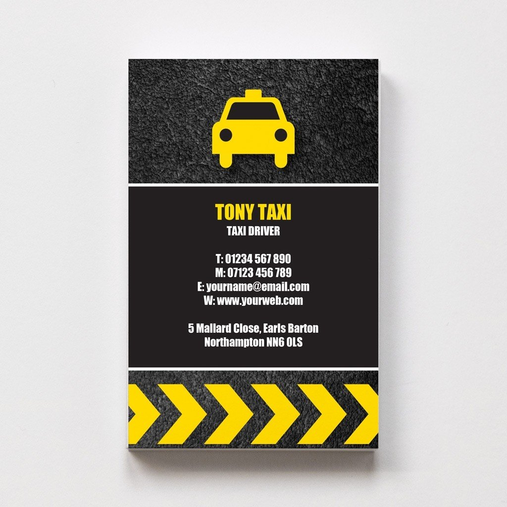 Templated Business Card Taxi Driver 1