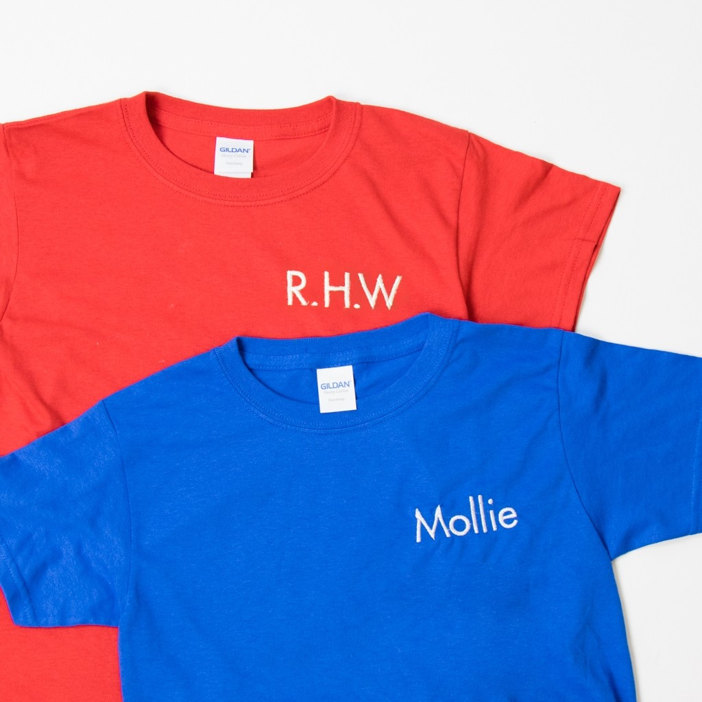 Personalised Embroidered Youth T-Shirt