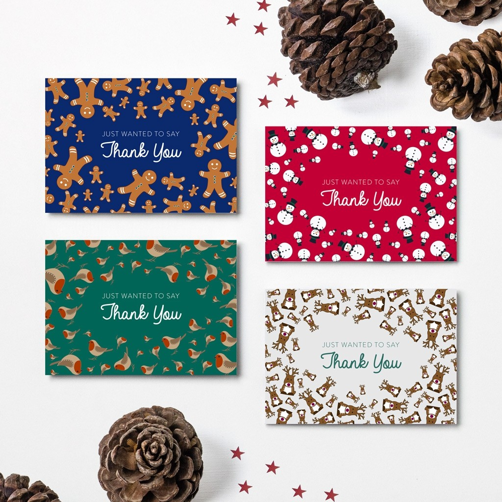 Christmas Thank You Cards - 2017 Designs
