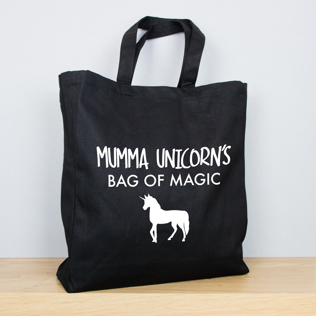 Unicorn - Personalised Mother's Day Tote Bag