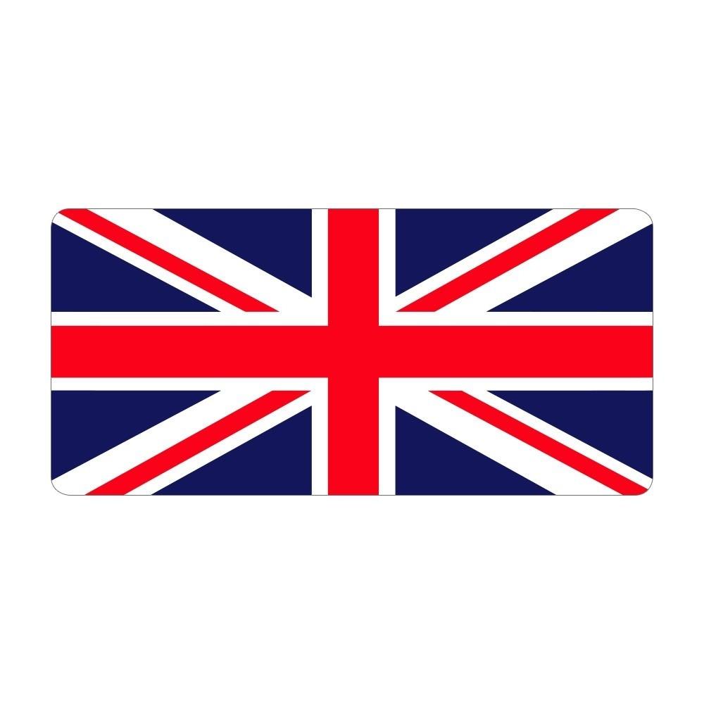 Union Jack - Pre Designed Labels