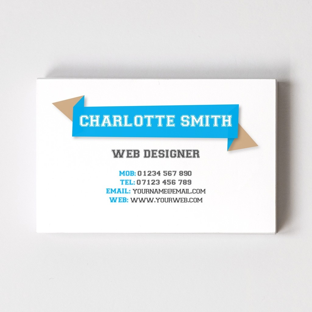 Templated Business Card Web Design 1
