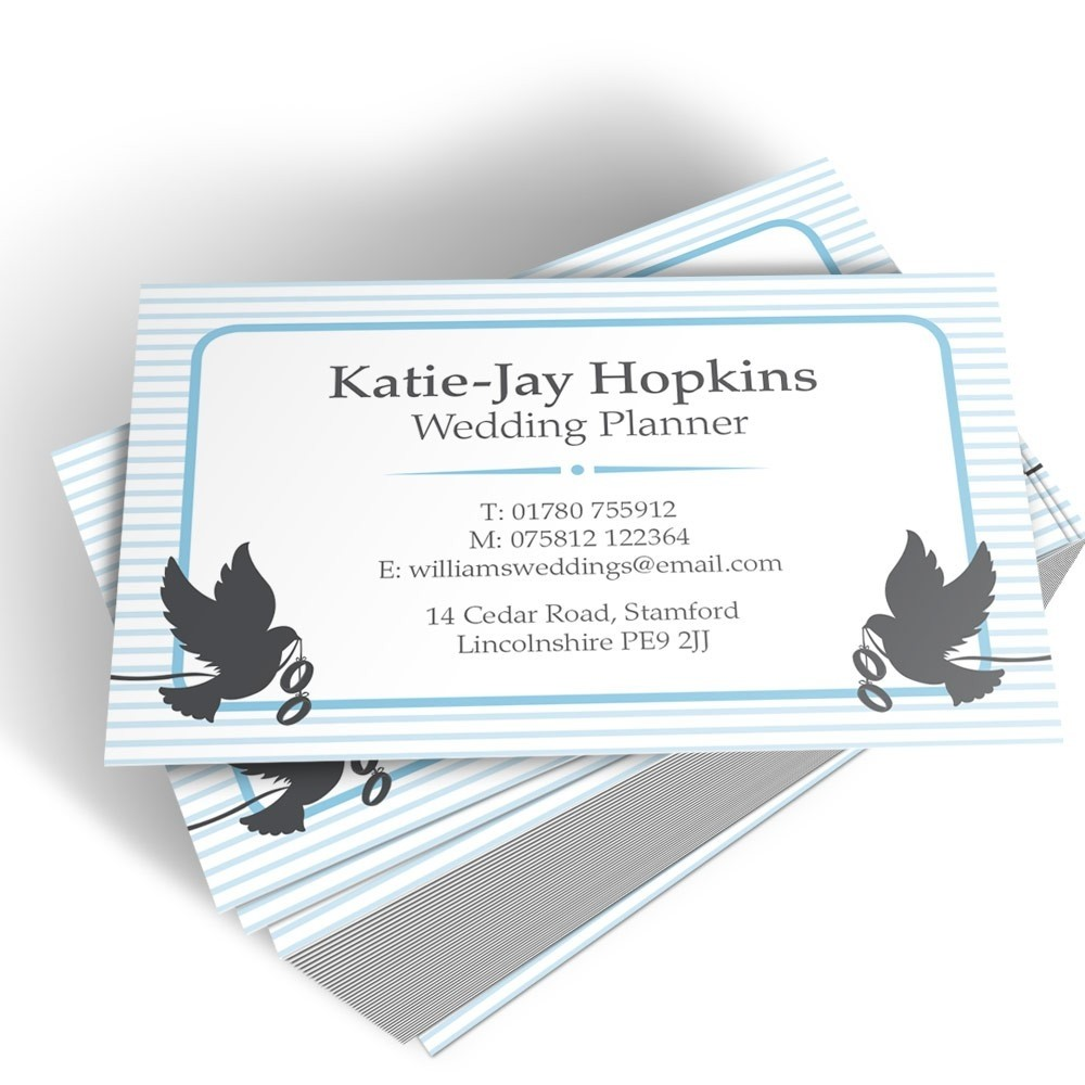 Templated Business Card Wedding Planner 3