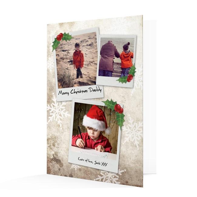 Premium Photo Christmas Cards - Polaroids