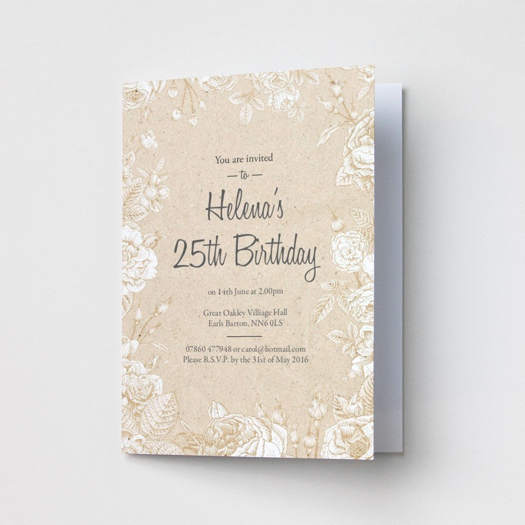 You Are Invited - Party Invitations