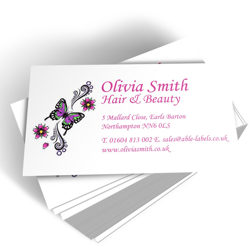 Your Own Logo Left Business Card