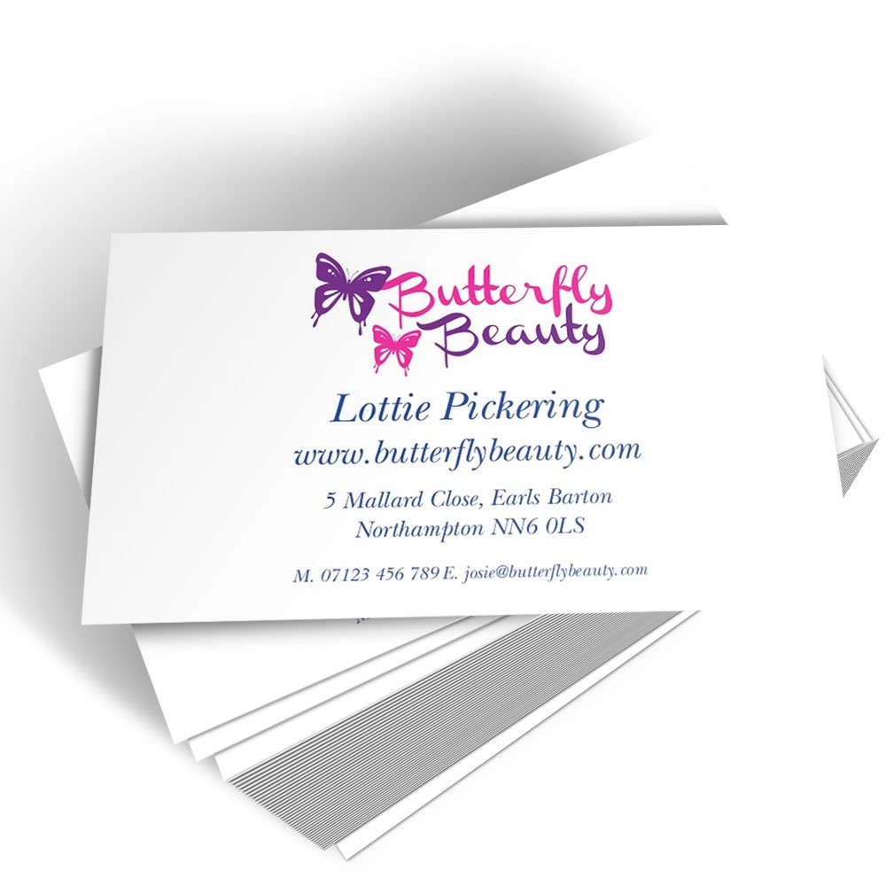 Your Own Logo Top Business Card - Able Labels