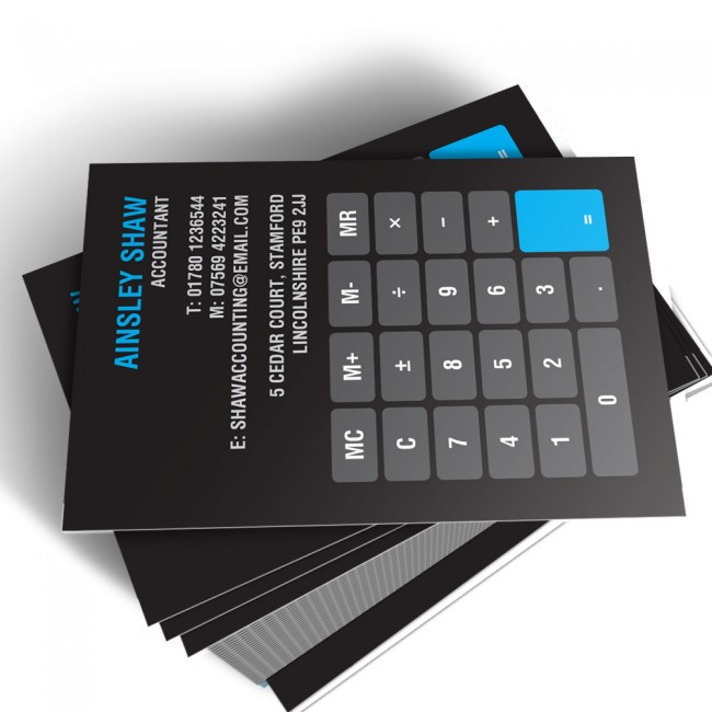 Template business cards able labels templated business card accountant 1 reheart Choice Image