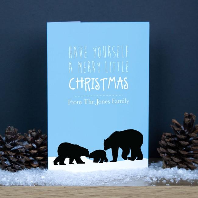 Premium Christmas Cards - Bears