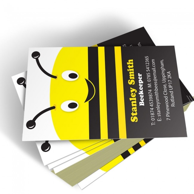 Templated Business Card Bee Keeper 1