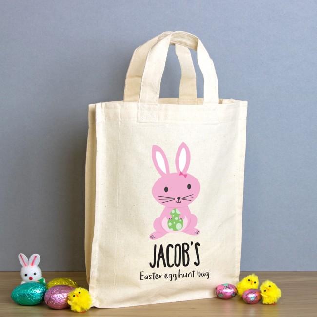 Easter Egg Hunt Mini Tote Bag - Bunny