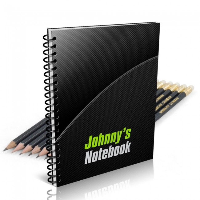 Carbon Fibre Notebook Gift Set