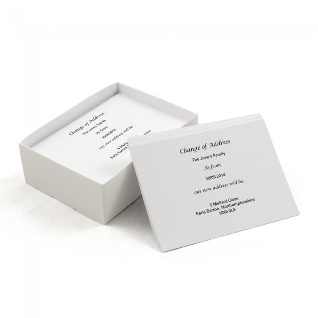 Basic Change of Address Cards