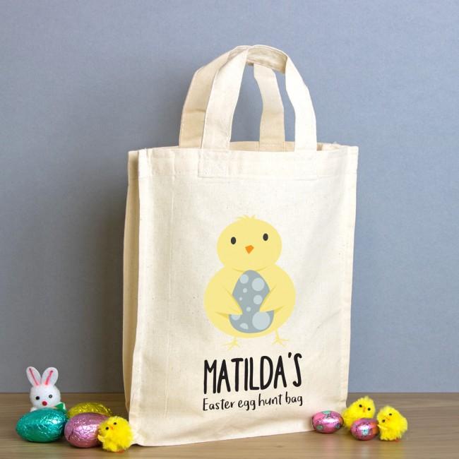 Easter Egg Hunt Mini Tote Bag - Chick