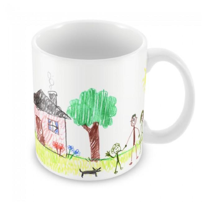 Child's Artwork Mug One Side