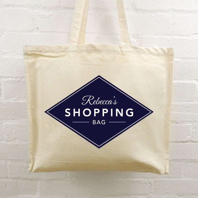 Personalised Tote Bag - Shopping