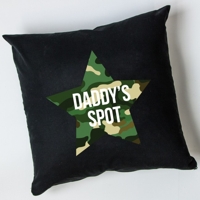 Personalised Cushion - Camo