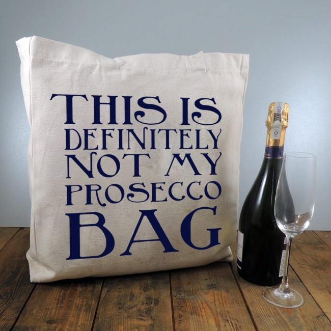 Personalised Tote Bag - This Is Definitely Not My Prosecco Bag