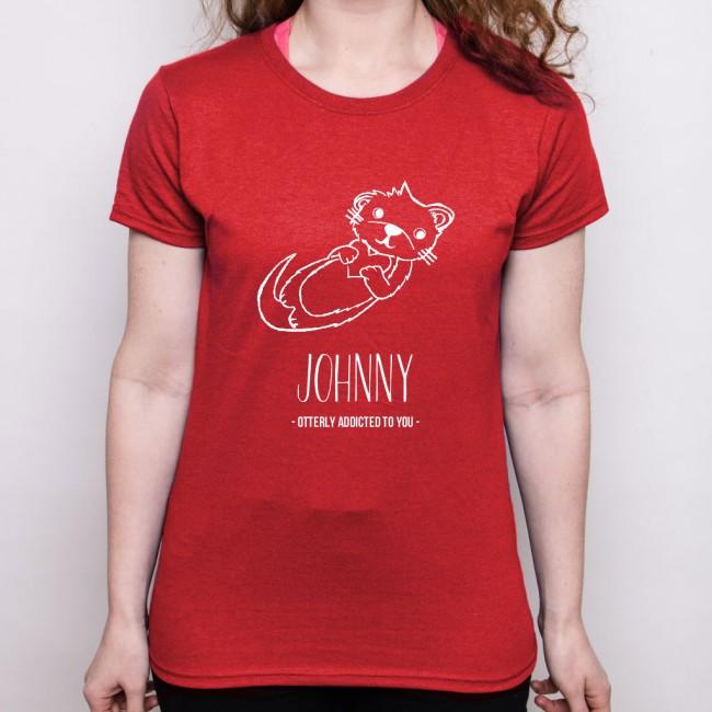 Valentine's Day T Shirt - Otter