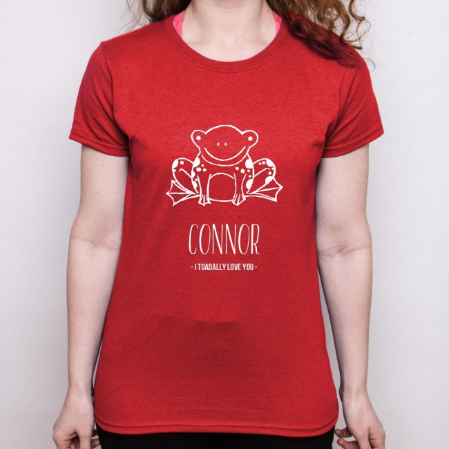 Valentine's Day T Shirt - Toad