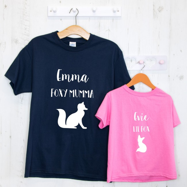 Fox Mother's Day T-Shirt