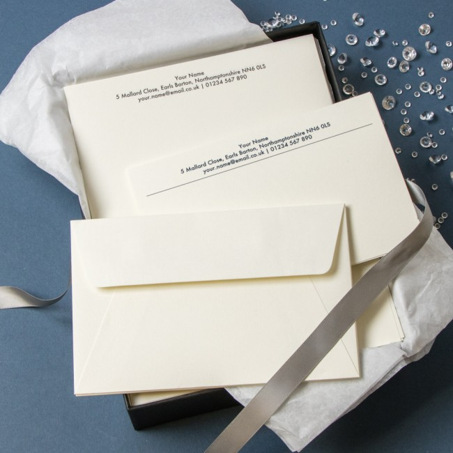 Luxury Stationery Gift Set - Thermo Printed