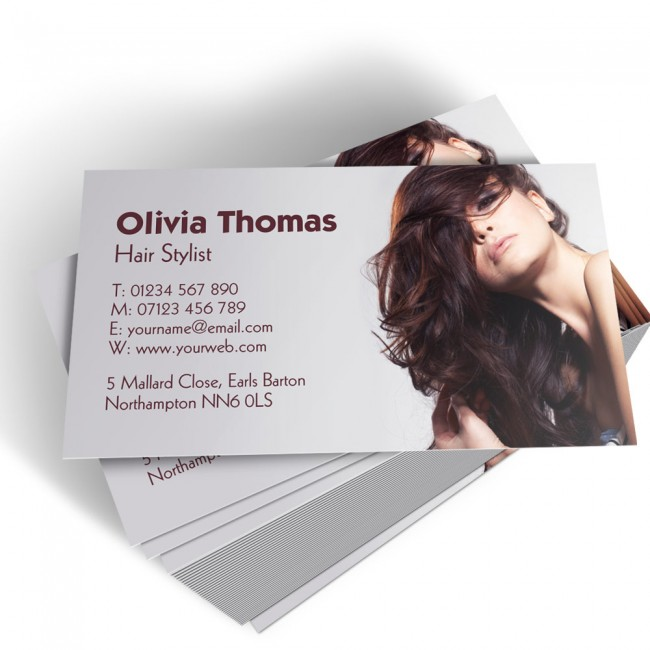 Hairdressers business cards able labels templated business card hairdresser 2 colourmoves