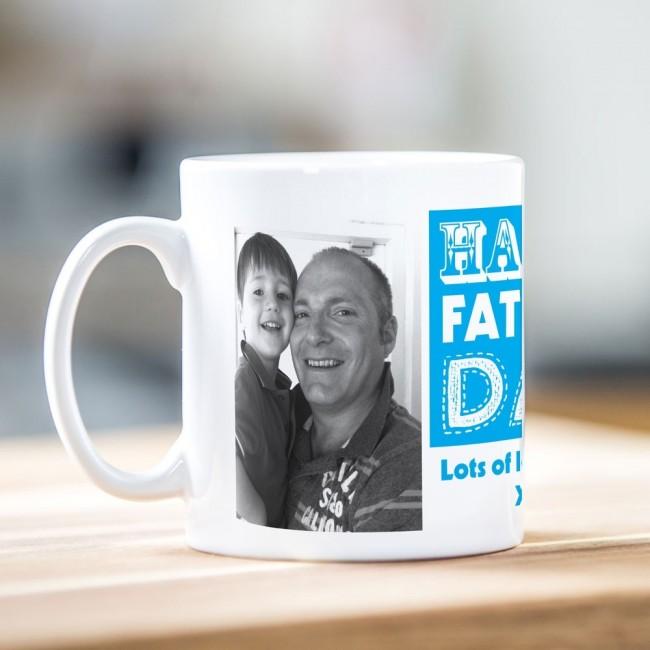 Happy Father's Day Photo Mug