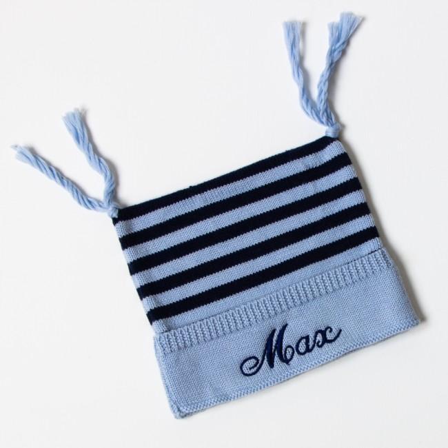 Little Nitwits - Luxury Merino Wool Stripy Hat