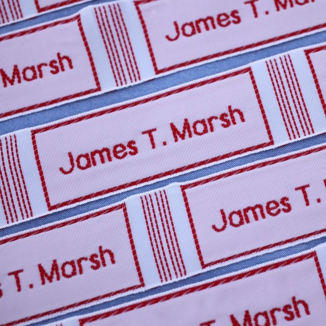 Large Woven Sew In Name Labels
