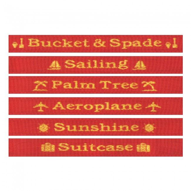 Logo Luggage Strap