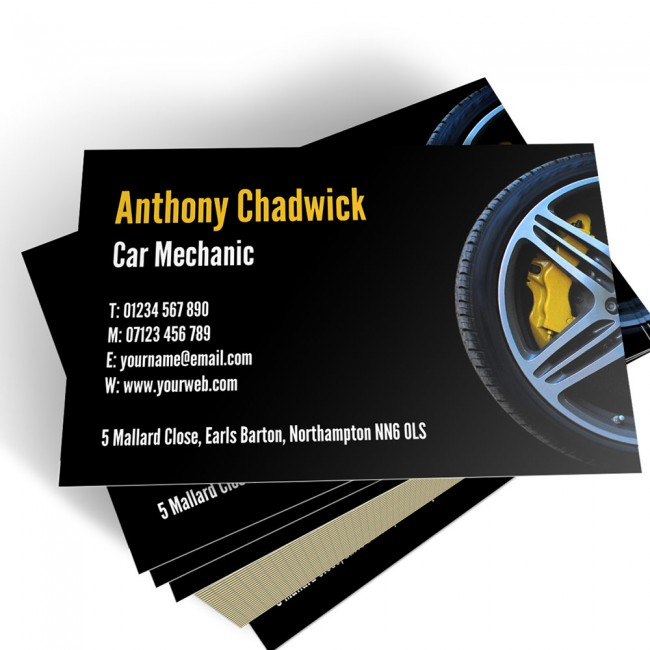 Mechanic business cards able labels templated business card mechanic 2 colourmoves