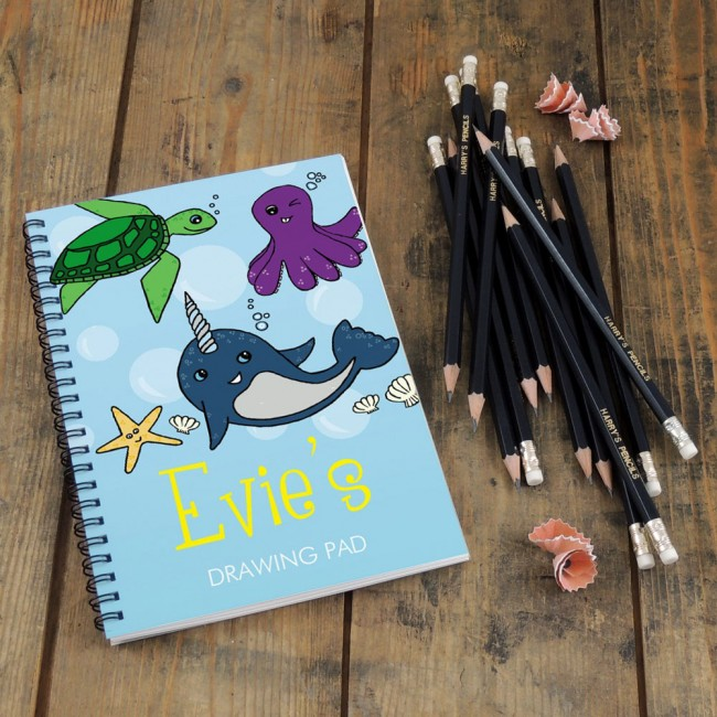 Under the Sea Notebook & Pencil Gift Set