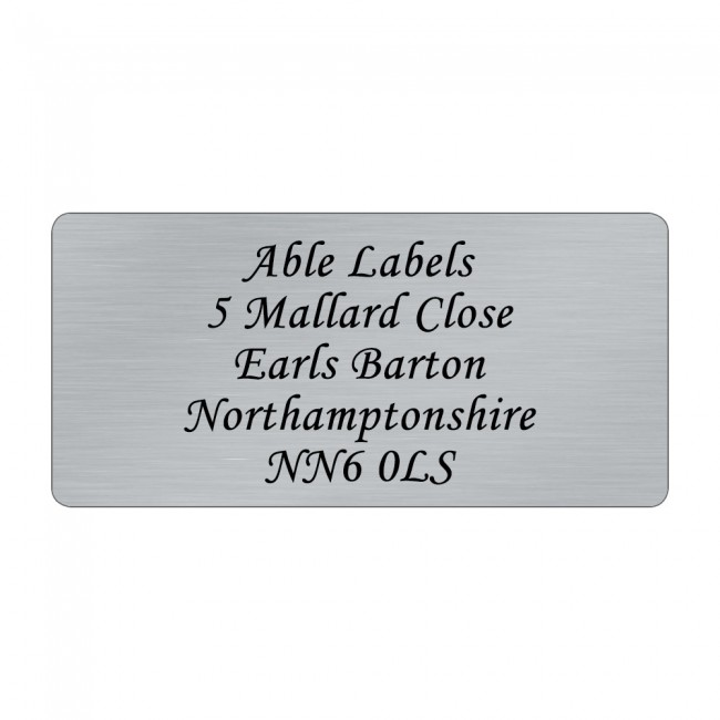 Silver Original Cut Labels