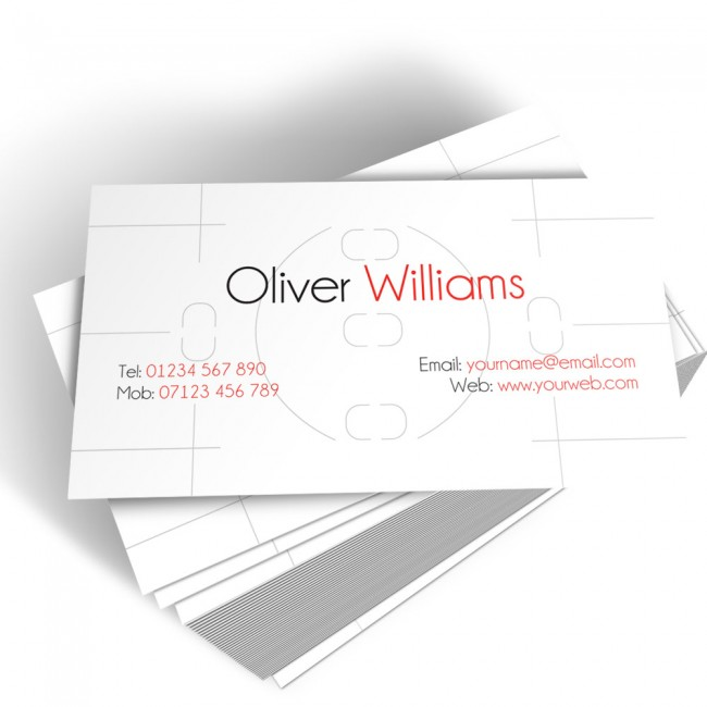 Templated Business Card Photography 3
