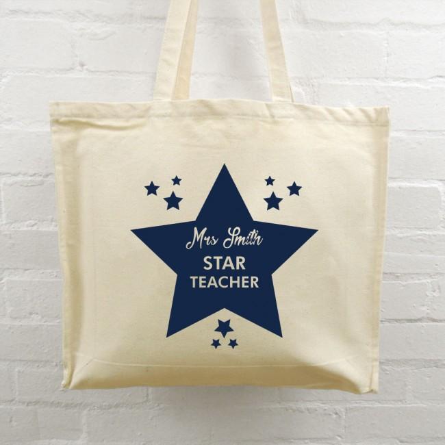 Teacher Tote Bag - Star Teacher
