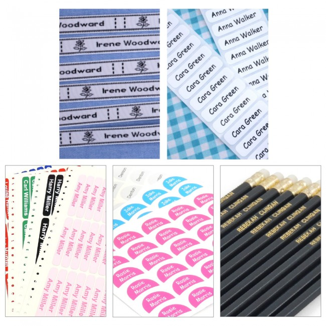 Starter Label Pack with Pencils