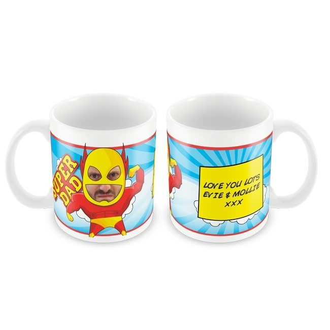 Super Dad Photo Mug