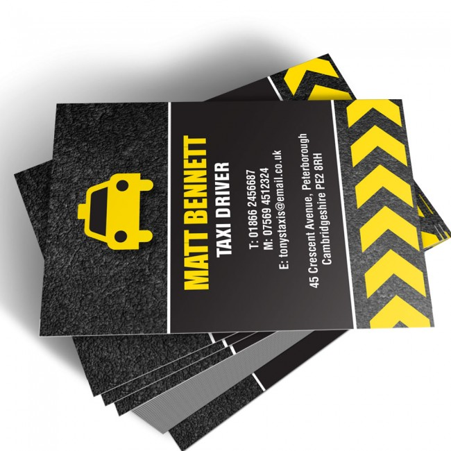 Template business cards able labels templated business card taxi driver 1 reheart Choice Image