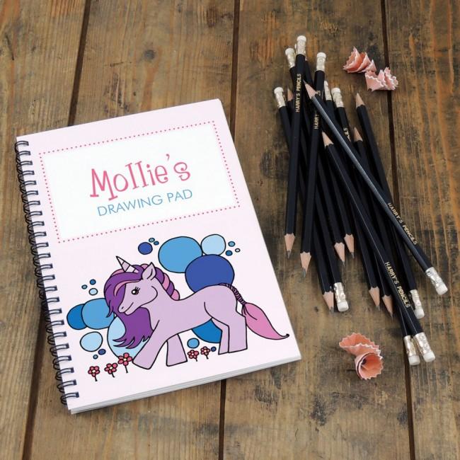 Purple Unicorn Notebook & Pencil Gift Set