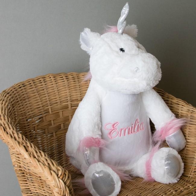 Personalised Soft Toy Unicorn