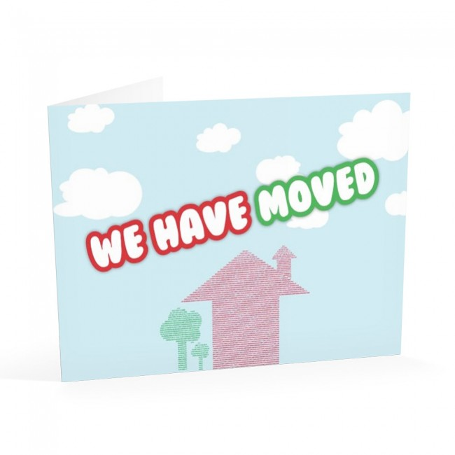 We Have Moved 2 - Change of Address Cards